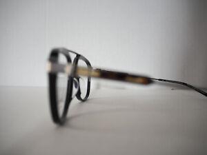 Calvin Klein Collection 205W39NYC Raf Simons Black Optical Eye Glasses Frames