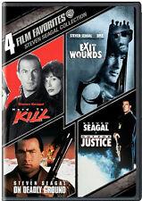 4 FILM FAVORITES: STEVEN SEAGAL ACTION / (WS) - DVD - Region 1