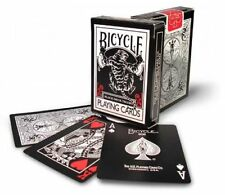 1 Deck Bicycle Black Tiger Red Pip Standard Poker Playing Cards Brand New Deck