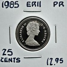 1985 Canada 25 cents Proof