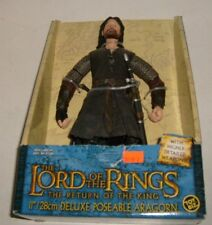 "Lord of the Rings Return of the King Aragorn 11"" Roto Figure Toybiz New Lotr"