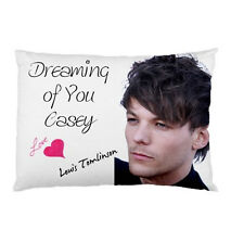 LOUIS TOMLINSON ONE DIRECTION Dreaming of You Personalized custom pillow case