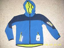 Blau/gelbe Softshelljacke Gr.122 C&A NEU!