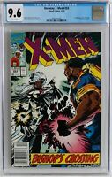 NEWSSTAND VARIANT CGC 9.6 White Pages WP Uncanny X-Men #283, NEW CASE! Bishop