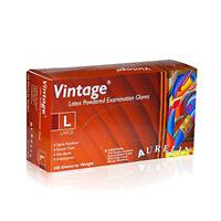 *1-Pack* Supermax Aurelia Vintage Latex Examination Gloves Large 28828
