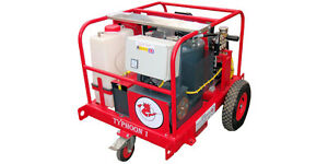 Steam cleaner,hot and cold self contained mobile pressure washer,