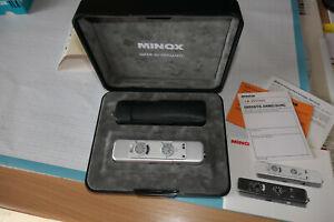 MINOX LX Miniatur Kamera Agenten Spionage 1:3,5 f=15 mm + Box