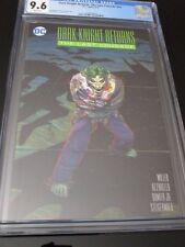 Dark Knight Returns The Last Crusade 2016 Frank Miller John Romita Joker Cgc 9.6