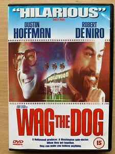 Wag the Dog DVD 1998 Political Spin Doctor Comedy Movie w/ De Niro + Hoffman