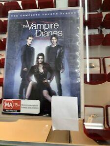 The Vampire Diaries (DVD, R4) Season 4