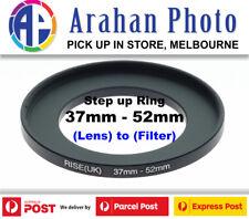 Step Up Ring 37-52mm Filter Lens Adapter 37mm Filter to 52mm Lens