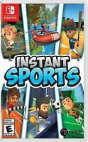 Instant Sports [Nintendo Switch 6 Games 20 Characters Solo Multiplayer] NEW