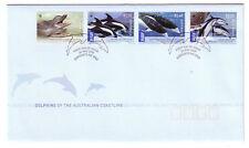 """2009 FDC. Australia. Dolphins of the Australian Coastline. PictPMK """"SORRENTO"""""""