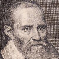 Portrait XVIIe Philippe Van Lansberge Lansbergen Mathématicien Astronome Belge