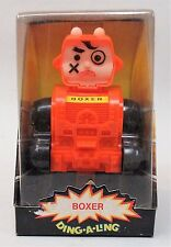 1970's Boxer Ding-A-Ling Robot by Topper Mint In Box