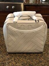 NWT Tory Burch Alexa Satchel Handbag - Concrete - MSRP $650