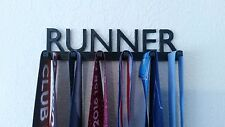 RUNNER RUNNING RUN MARATHON MEDAL SPORTS DISPLAY HOLDER HANGER RACK ORGANIZER