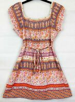 DOROTHY PERKINS Womens Multi Floral Top Size 12