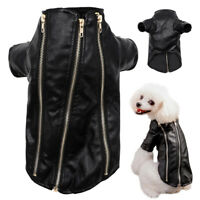 Chihuahua Clothes Waterproof Small Dog Coat Leather Jacket Puppy Winter Apparel