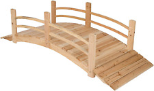 Shine Company Inc. 4982N Cedar Garden Bridge, 6 Ft, Natural