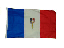 New listing France Free French Resistance Ww2 Flag 3 X 5 3X5 New Lorraine Cross Shackles