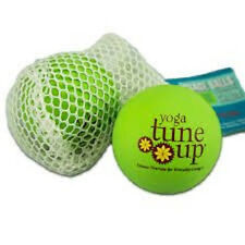YOGA TUNE UP THERAPY BALLS GREEN SET OF TWO - JILL MILLER TUNE UP FITNESS NEW