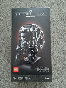 LEGO Star Wars TIE Fighter Pilot Helmet 75274 Brand New InSealed & Unopened Box