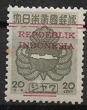 Ned. Indie Repoeblik Indonesia Java- Madoera Zonnebloem 13
