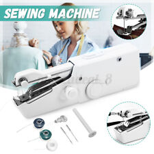 8pcs Set Mini Portable Smart Electric Tailor Stitch Handheld Sewing Machine Home