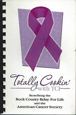 *LUVERNE MN 2007 ROCK COUNTY RELAY FOR LIFE COOK BOOK *TOTALLY COOKIN WITH TCI