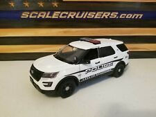 Kissimmee Police 1:24 Scale Diecast Ford Police Interceptor Utility (Explorer)