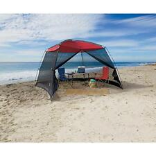 Beach Tent Shelter Large Screenhouse 10x10 Ft Sun Shade Canopy Camping Roof Mesh