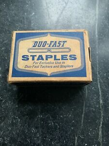 """DUO-FAST 5/16""""~ No 5010-D Staples  - AROUND 4OOO STAPLES - VINTAGE"""