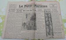 Le Petit Parisien 1932 RUAUDIN AUBISQUE TOURMALET tour de France