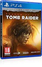 SHADOW OF THE TOMB RAIDER - CROFT EDITION PS4 VIDEOGIOCO ITALIANO PLAYSTATION 4