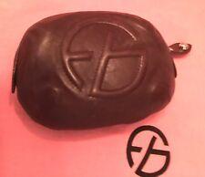Francesco Biasia Soft Brown Italian Leather Wallet Clutch Bag
