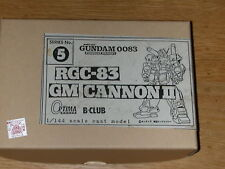 GM Cannon RGC-83 1/144 scale resin kit (Optima & B-Club) Gundam 0083