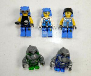LEGO Convolute 6 Figurines/Power Miners Boulderax Glaciator (K38) #04