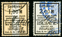 Germany Stamps VF Used Lot of 2x 1,000,000 Revenues