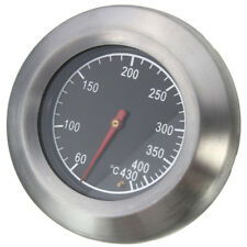 Barbecue Thermometer Gauge Stainless Steel Smoker Grill Temperature BBQ Tools