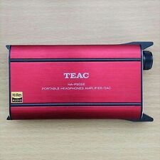 Gebraucht Teac HA-P50SE-R Hi-Res Kopfhörer Verstärker Dac Rot von Japan