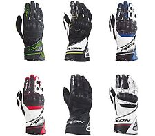 IXON RS RALLYE HP Motorcycle Leather Racing Gloves PPE cat 2. CE certified