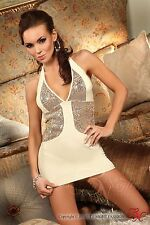 BEAUTY NIGHT Calipso Luxury Halter Neck Dress and Matching G-String Set