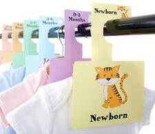 LITTLE ANIMAL WARDROBE DIVIDERS   Newborn - 2 Years   Arrange Baby Wardrobe!
