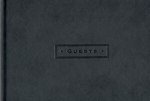 Peter Pauper Press  - Black - Hardcover Guest Book