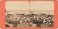 Costantinopoli Grecia & Turchia Foto B.K. Parigi Stereo ca di albumina