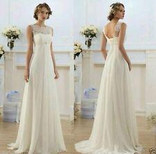 Vestido de Novia nuevo Traje de Novia para Boda Blanco/Marfil Talla 6 _ 18 Reino Unido