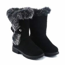 Unbranded Suede Snow, Winter Boots for Women