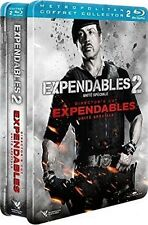 Coffret 2 Blu Ray Steelbook // EXPENDABLES 1 et 2 //  Stallone - NEUF cellophané