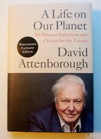 Life on Our Planet David Attenborough Waterstones Exclusive First Edition NEW